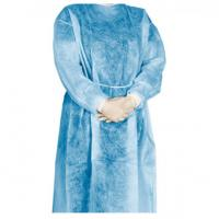 China Hypoallergenic Disposable Isolation Gown Fluid Resistant Environmental Friendly on sale