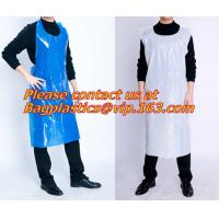 China Plastic White Embossed Disposable Pe Aprons/plastic apron/disposable apron,Spa and Beauty Items PROTECTIVE PRODUCTS PAC on sale