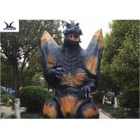 Buy 2.3 Meters Amusement Park Giant Realistic Animatronic Godzilla Statues can move at wholesale prices