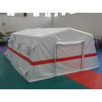 Traditional White Hospital Color Inflatable Tent , 0.65mm PVC Inflatable Emergency Tent