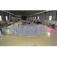Best White Bumper Ball Inflatable Water Sports  PVC Plastic Sports Games For Campaign wholesale