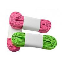 Quality Green Pink Red Ice Hockey Skate Laces Waterproof High Tensile Strength for sale