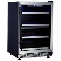 Quality S.S door with S.S cover shelves Wine Cooler for sale