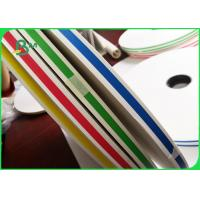 China FSC FDA Approved Straw Wrapping Paper For Birthday Parties 14mm 15mm Roll Width on sale