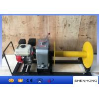 Quality 3 Ton Gasoline Engine Cable Pulling Winch For Pulling And Hoisting Wire Rope for sale