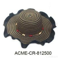 Quality Paper Straw Beach Hat for sale
