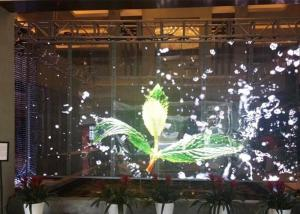 Quality P7.82 5500cd Outdoor Transparent Led Screen SMD2121 Aluminum for sale