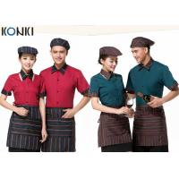 Quality Cool Restaurant Wait Staff Uniforms Nice Shirt And Pants For Restaurant for sale