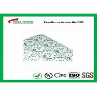 Quality Aluminum Base PCB with High Thermal Conductivity Thickness 4.0mm V-cut LED PCB for sale