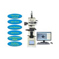 Quality Touch Screen Digital Hardness Tester Vickers with Motorized XY Table and Software Measurement for sale