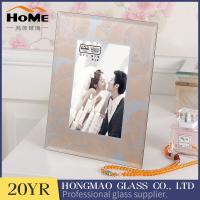 Quality Classic Glass Front Picture Frames / Glass Display Picture Frames Eco Friendly for sale