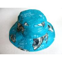 Fishmen Foldable Hats, Made of Polyester, Customized Logos are Accepted