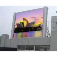 Quality Full color led video display Outdoor , transparent led screen for street , highway for sale