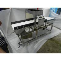 China Fully Automatically Belt Conveyor Metal Detectors For Textile , 25-30 M/Min Speed on sale
