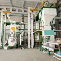 China Customized Wood Pellet Press Mill Equipment Total Line Acacia Raw Material on sale
