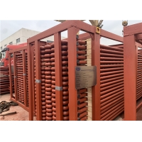 China Boiler Spare Parts Economizer Bundle With Anti Corrosion Shields For Waste Heat Boiler for sale