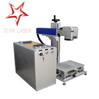 Quality Blue 10W Fiber Laser Marking Machine?, Pipe Laser Marking Engraving Machine for sale
