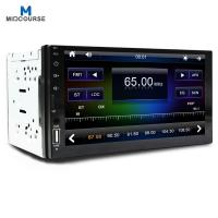 Quality Wholesale Capacitive Screen 7 Inch 2 Din Car Audio  Radio Stereo with New c200s chip /BT /USB /SD/ Mirror link /Fast cha for sale