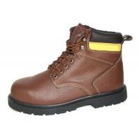 Quality High Ankle Leather Comfortable Steel Toe Shoes  , 43'' Size Industrial Work Shoes for sale
