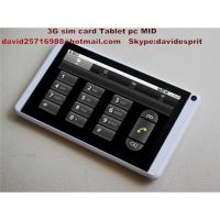 3G,Bluetooth, GPS Mid tablet