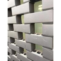 Buy cheap Hollow Clay Blocks Building for wall construction with grey color and smooth from wholesalers