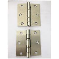 Quality Sn Latin Nickel Plated Heavy Duty Door Hinges 2bb Ball Bearing Soft Closing for sale