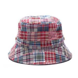 Buy cheap 100% cotton cheap custom bulk printed folding men bucket cap bucket hats size 58-60  Digital printing from wholesalers