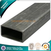 Quality Construction Welded Rectangular Steel Tubing ASTM A500 BS1387 High Tensile for sale