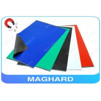 Best Self Adhesive Rubber Magnet Sheets Colorful , Fridge Magnetic Rubber Sheet wholesale