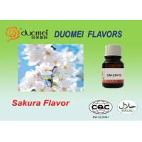 Liquid Soft Drink Flavours Bright Fruity Sakura Flavor For Drinking for sale