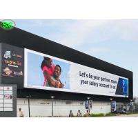 Quality P10 High Resolution Advertising Full Color LED Screens IP65 Waterproof for sale