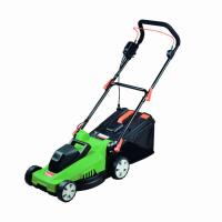 Quality Garden Tools 35cm Smart Metal Lawn Mower 1400W With Anti - Vibration System for sale