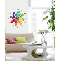 Quality Modern Home Decoration Crystal Bones Wall Sticker Clock 10D012 for sale
