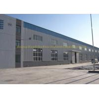 Fire Proof Quick Build Prefabricated Steel Structure Warehouse Moisture Proof