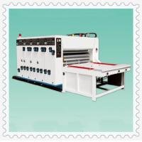 Best One/two/three/four color printing slotting machine wholesale