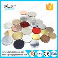 Best hot sale metal candle lids with customized logo for candle jar wholesale