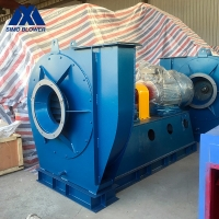 China Alloy Steel Single Inlet Air Supply Industrial Centrifugal Fans for sale