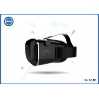 Quality ABS Material 3D Video Glasses / Gaming Video Glasses with 20 cm - 40 cm Head girth for sale