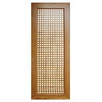 Bamboo/wooden louvered interior doors customized sizes are both available