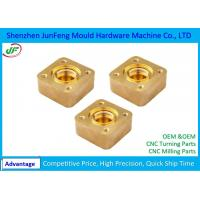 Stainless Steel / Brass CNC Machine Parts , CNC Milling Parts 0.002 ID / OD Grinding