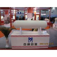 ISO11439 TS16949 CNG Steel Cylinder WIth 250 BAR Pressure 34CrMo Material
