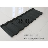 Quality Heat Resistance Stone Coated Roofing Tiles 0.5mm Thickness 50 Years Guarantee for sale