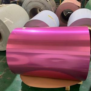 Quality Yongsheng 1200 H22 PE PVDF Prepainted Aluminum Coil for sale
