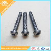 Best Full thread Gr5 inch titanium allen socket head bolts wholesale