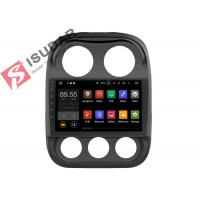 Quality 10.1 Inch Single Din Touch Screen Car Stereo , Jeep Compass Gps Navigation System for sale