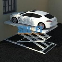China Portable Automotive Scissor Lift For Automatic Car Elevator Parking Systems on sale
