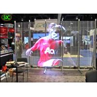 Best Full Color Transparent Led Screen For Window Advertising , Glass Display Screen wholesale
