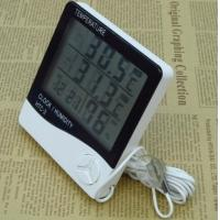 Quality Indoor / Outdoor Digital Hygrometer Temperature Thermometer LCD Display Humidity Hygrometer for sale