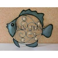 China Exquisite Metal Crafts of Lovely Fish on sale