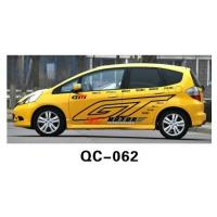 Best Modern PVC Decorative Designer Car Body Sticker QC-062C wholesale